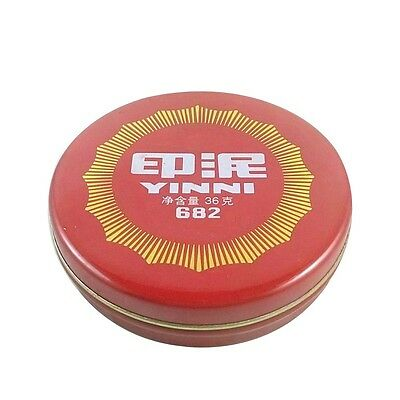 Branded New Calligraphy Stamp Seal Painting Red Ink Paste Chinese Yinni Pad 36g