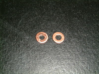 M3 Copper Washers- Choose from 2 different sizes, 10 per pack