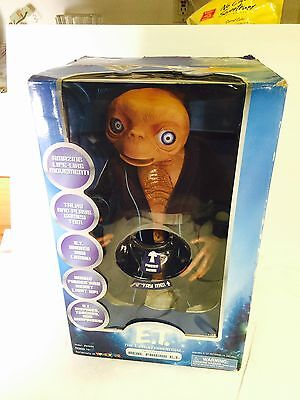 "Toys'R'us 20th Anniversary Real Friend 15"" ET, Interactive, E.T. Works!W/Manual"