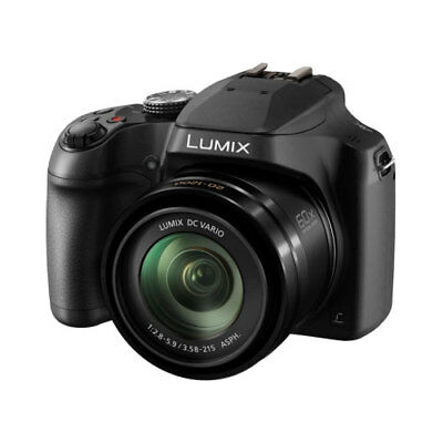 Panasonic Lumix FZ82 Black Digital Camera
