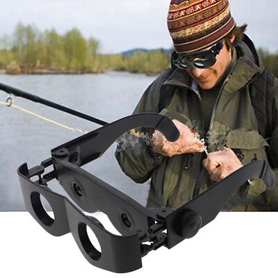 Portable Stylish Glasses Style Telescope Magnifier Binoculars For Fishing Hiking