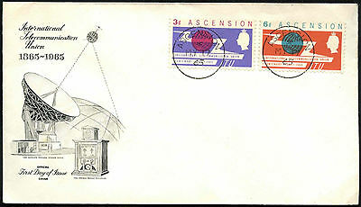 Ascension 1965 ITU FDC First Day Cover #C41288
