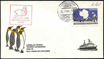 Chile 1973 Frei Station Cover #C41283