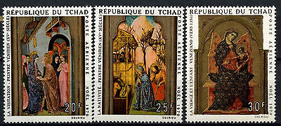 Chad 1970 SG#317-9 Christmas MNH Set #D49501