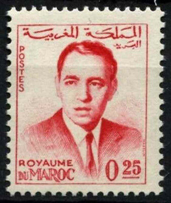 Morocco 1962 SG#116b, 25f King Hassan II Definitive MNH #D49376