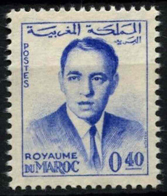 Morocco 1962 SG#117b 40f King Hassan II Definitive MNH #D49378