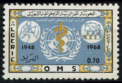 Algeria 1968 SG#514, 20th Anniv Of WHO MNH #D49366