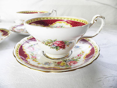 """Tea Cup and Saucer Foley China """"Windsor""""   Vintage Collectable"""