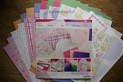 Creative Memories Little Girl Perfect Fit Album Kit - Pink