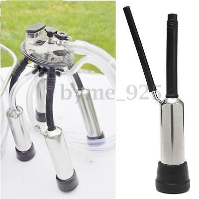 Stainless Steel Rubber Cup Shell And Inflation Liner Cow Milking Machine Part
