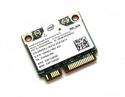 DELL Intel Centrino Advanced-N 6235 Wireless WiFi Bluetooth Card 6235ANHMW 5K9GJ