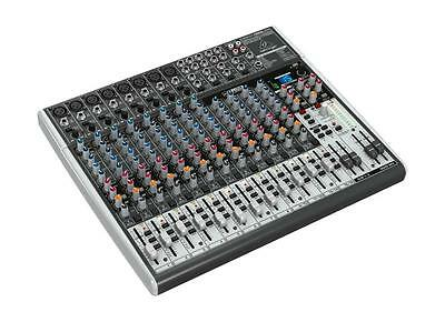 Behringer Mixer X2222 USB 22-Kanal 2/2 Bus PA Mischpult Xenyx Mic Preamps