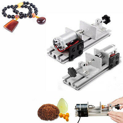 24V Pearl Beads Wood Drilling Machine Driller Holing Mini Craft Punch Tool 50W