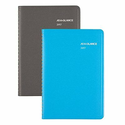 """AT-A-GLANCE Weekly / Monthly Appointment Book / Planner 2017, 4-7/8 x 8"""""""