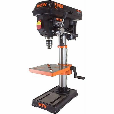 Mechanical Infinitely Variable Speed Drill Press Delivers Torque Wen 10 Inch New