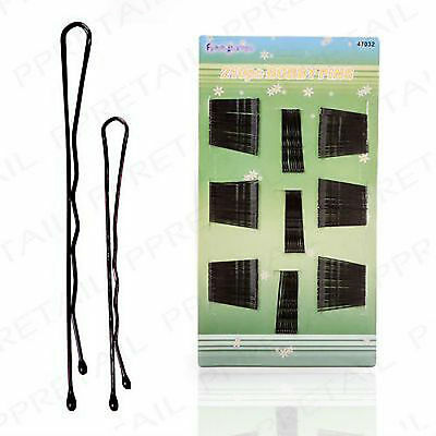 New BOBBY PINS 210Pc Small-Large Waved Hair Grips Granny Clips Kirby Styling Pin
