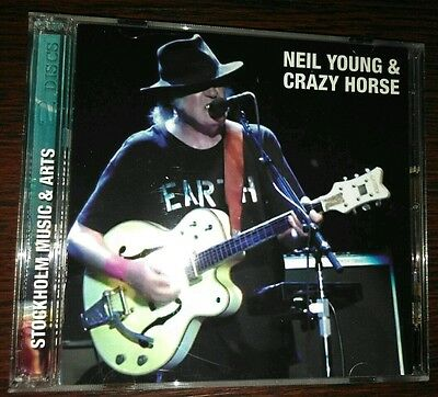 Neil Young & Crazy Horse - Stockholm 2014 - Crystal Cat Cc 1048-49***new***