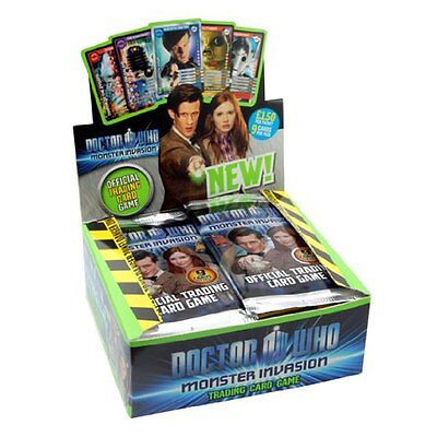 Doctor Who Monster Invasion Trading Card Packet  New & Sealed - 2 x Packet
