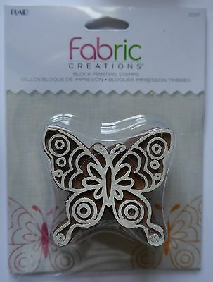 Fabric Creations PRINTING BLOCK STAMP Butterfly
