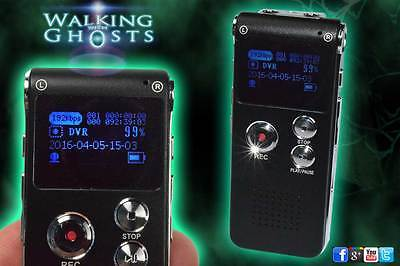 EVP Digital Audio Voice  Recorder 8Gb Ghost Hunting Paranormal Equipment, UK