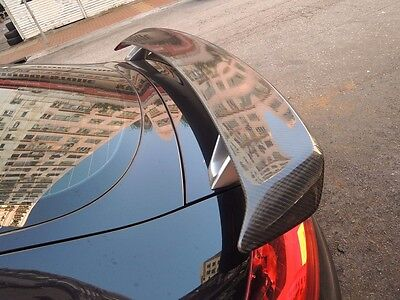 For Carbon Fiber Audi 2007-2016 Tt 8J Tts Rs Style Rear Wing Trunk Spoiler