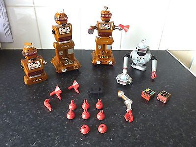 IDEAL ZEROIDS Robot battery operated 1968 for parts spares & repairs