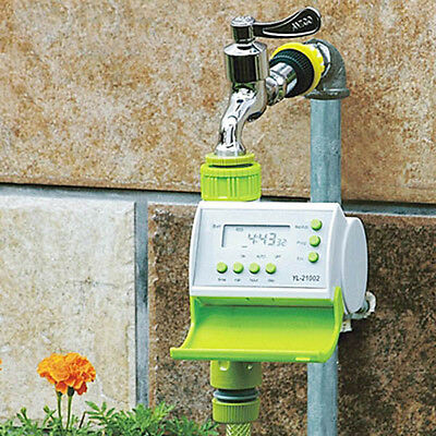 BG4184 Gardening Automatic LCD Watering Timer Smart Solenoid Valve Controller