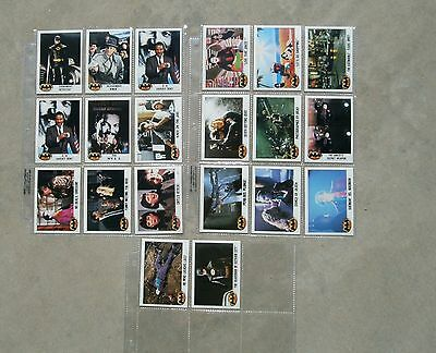 20 Batman Trading Cards From 1989 Set