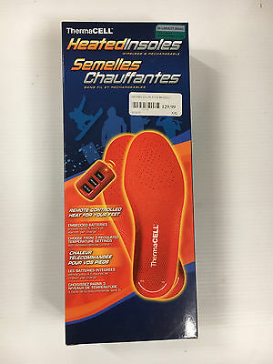 Thermacell Heated Insoles Xxl New
