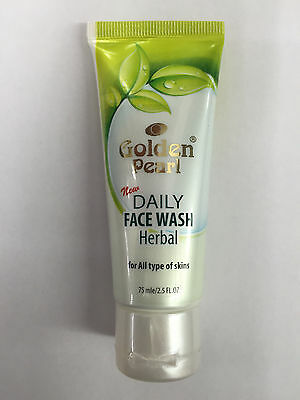 Golden Pearl Daily Face Wash Herbal For All Type of Skin 75ml