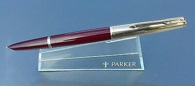 Parker 51 Aerometric in Burgendy 12k Gold fill Cap made in England
