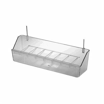 Pet Ting 20cm Universal Feeder With Clear Grid For Finch Canary Budgie Etc