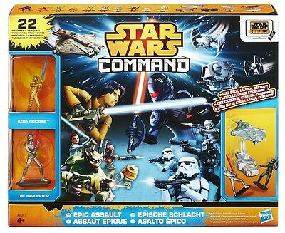Epic Assault Pack Star Wars Command HASBRO
