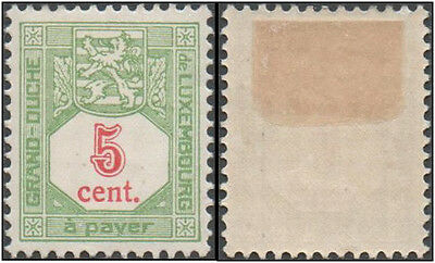 Luxembourg. 1921. Postage Due. Coat of Arms 5c. MH. Sc. J10. MH