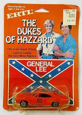 ERTL General Lee Vintage The Dukes of Hazzard 1969 Dodge Charger 1:64 1/64 Scale