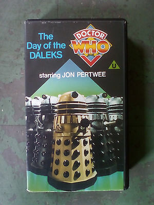 Doctor Who- The Day Of The Daleks - Jon Pertwee - Vhs (1986)