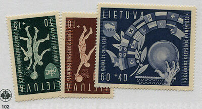 Lithuania   429-31  Mlh    31 Is  Mnh