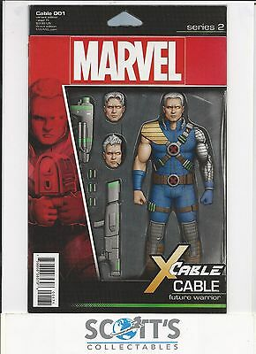 Cable  #1  New (Action Figure Variant) Freepost
