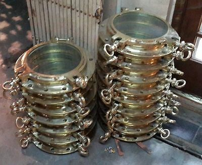 Marine New brass porthole weight of 12kg Set of 1 pics