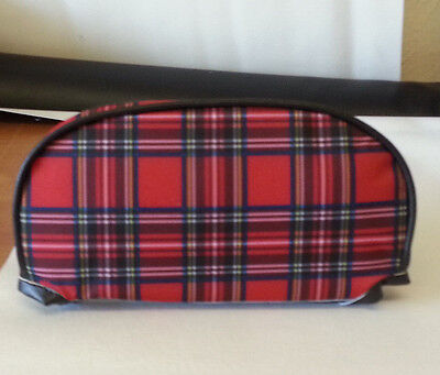 PX Slipover Back Rest Pad Tartan And Black