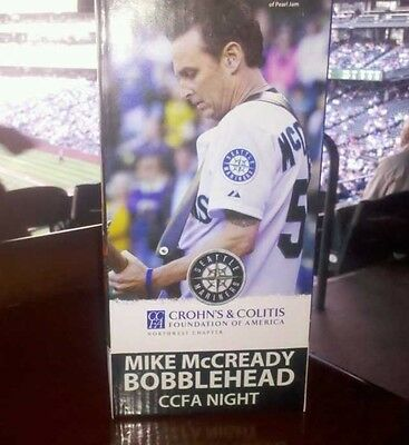 Mike McCready Bobblehead 2013 Seattle Mariners CCFA Night NEW SGA original box