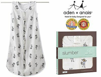 Summer Sleeping Bags (Monkeys) - Aden and Anais Top Quality Muslin