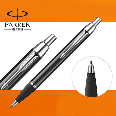Parker IM Ballpoint Pen Silver Clip Business Parker Metal Black Ball point Pen 4