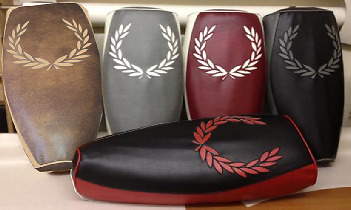 Vespa PX LML Elasticated Seat Cover Leaf Design Various colours