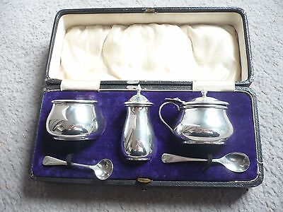 Sterling Sliver Condiment Set 1913-1915