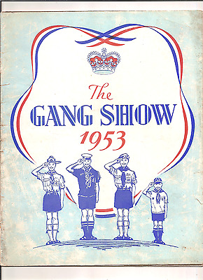 The Gang Show 1953 Newcastle-Upon-Tyne Boy Scouts,theatre Royal,newcastle