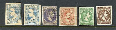 SPAIN--Lot of 6 Carlist Stamps