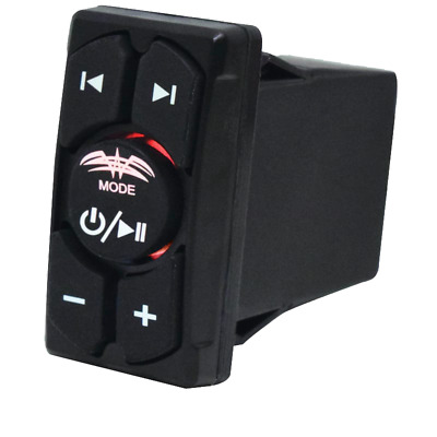 Wet Sounds Bluetooth Rocker Switch Remote Volume & Aux Input Controller WW-BT-RS