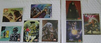 STAR WARS GALAXY Series Two New Visions 2 Art of Star Wars 1994 Topps Cards Lot