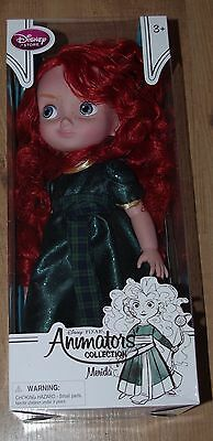 Disney Store Merida Doll Brave Animators Collection Toddler 16'' Discontinued 1